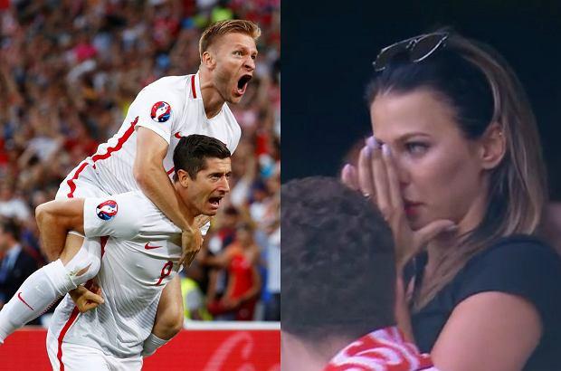 Robert Lewandowski strzelił gola, stadion oszalał. A Anna? Nie kryła ŁEZ. Zobaczcie jej reakcję