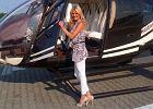 Radwa�ska przylecia�a na spotkanie z prezydentem prywatnym helikopterem! Fani zachwyceni: Kto bogatemu zabroni. Si� gra si� ma