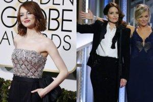 Emma Stone, Tina Fey i Amy Poehler