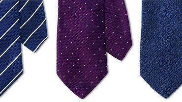 Krawaty z grenadyny fina, 399 zł dostępne w sklepie Macaronitomato.com