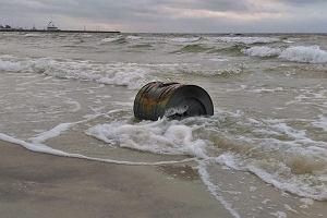 W Helu morze wyrzuciło na brzeg minę Marynarki Wojennej