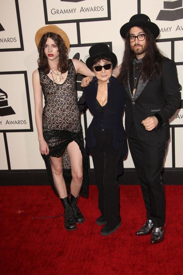 Charlotte Kemp Muhl, Yoko Ono, Sean Lennon