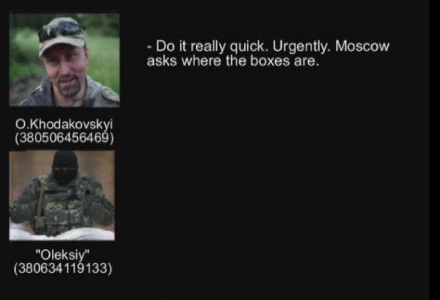 SBU opublikowało rozmowę separatystów