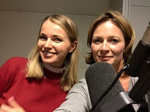 Odeta Moro i Agnieszka Cegielska w programie 'Morowy Weekend'