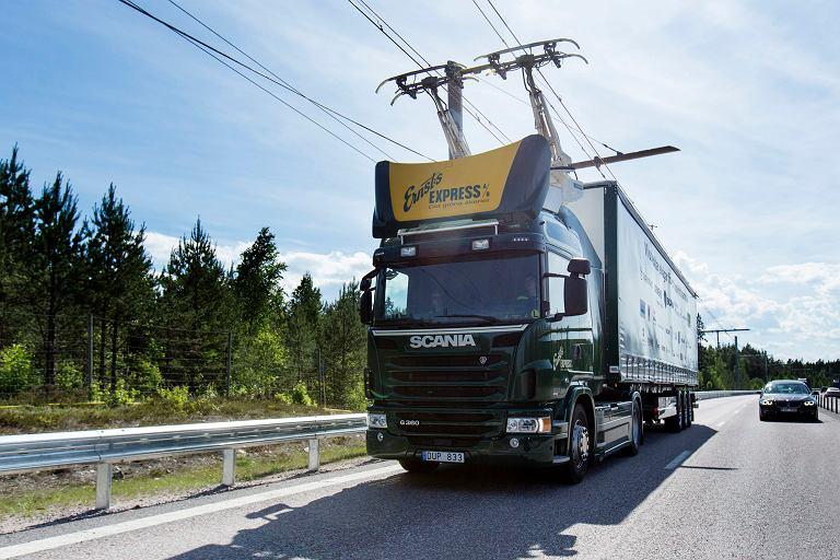 Elektryczna ciężarówka Scania