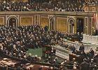 Dlaczego Amerykanie dołączyli do I wojny światowej. Prezydent Wilson wypowiada Niemcom wojnę