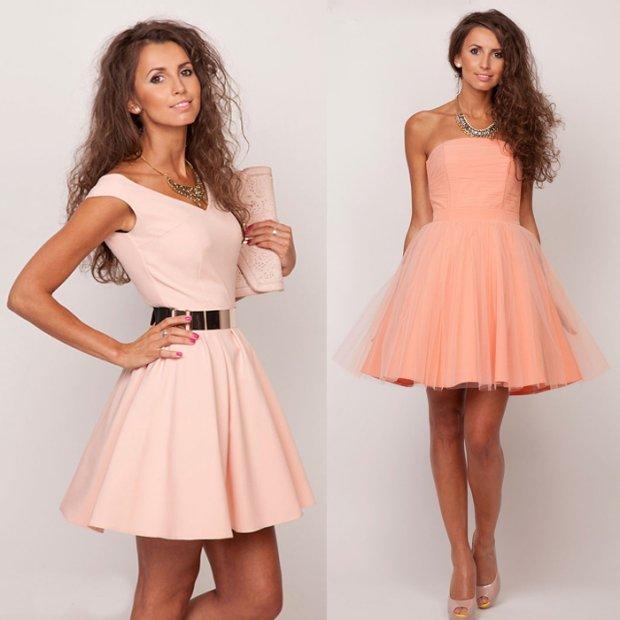 Sukienki na wesele: trzy pomys�y na pastelowe stylizacje