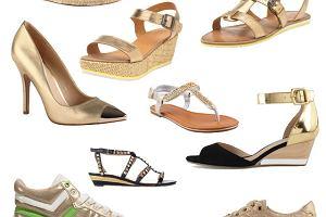 Z�ote buty na lato