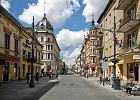 Piotrkowska po 1989 r. podnosiła się z kolan dwa razy