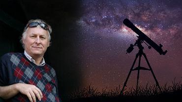Prof. Paweł Rudawy z Instytutu Astronomicznego UWr.