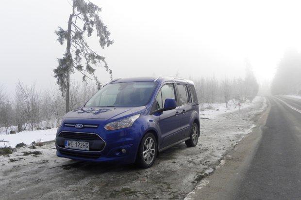 Ford Tourneo Connect 1.6 TDCi Titanium | Test długodystansowy cz. II | Wyjazd w góry