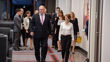 Minister gospodarki i energii Niemiec Peter Altmaier, Warszawa 05.09.2018