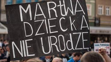 ''Czarny protest'' we Wrocławiu