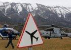 """Katastrofa samolotu we Francji. Hollande: """"Prawdopodobnie nikt nie prze�y� katastrofy samolotu"""""""