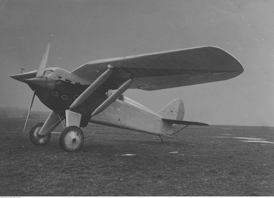 PZL P. 1 Samolot konstrukcji Zygmunta Puławskiego