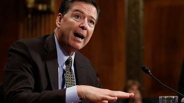 Były szef FBI James Comey złoży zeznania przed senacką komisją wywiadu