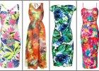 Sukienki w du�e kwiaty - wyraziste i kobiece