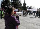 """""""Kobieta to cz�owiek, nie inkubator"""". Manifestacja przeciw zaostrzeniu prawa do aborcji [ZDJ�CIA, WIDEO]"""