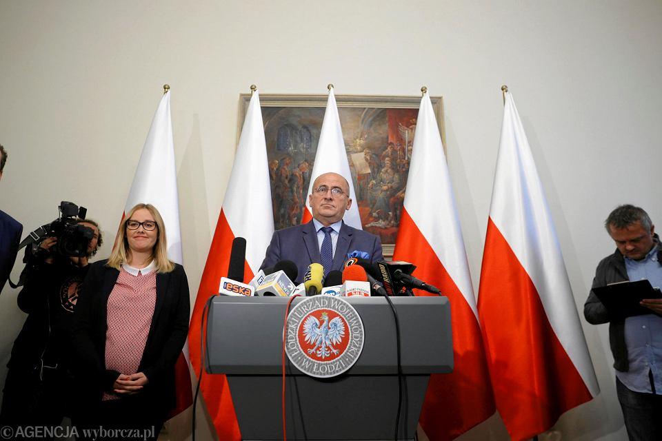 Wojewoda łódzki Zbigniew Rau wypowiada się w  sprawie prezydent Hanny Zdanowskiej i jej udziału w wyborach