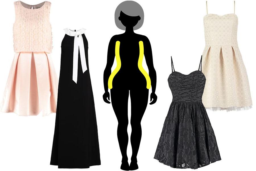 /Idealne sukienki wieczorowe dla Gruszki