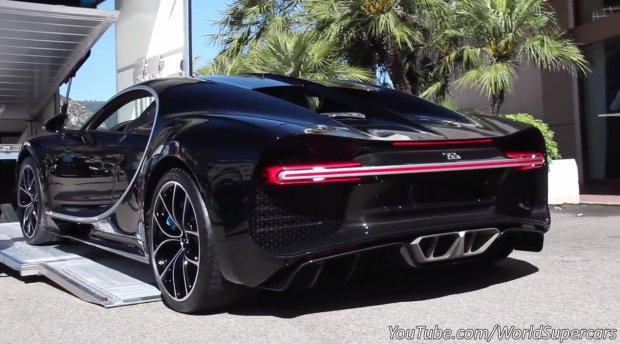 Wideo | Bugatti Chiron przy�apany w Monako