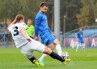 Lech Poznań - Pogoń Szczecin 0:0 w sparingu rozegranym we Wronkach. Hubert Wołąkiewicz