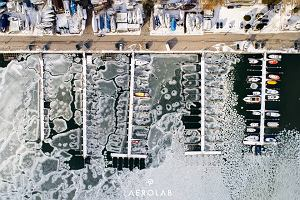 Jednym zdjęciem odczarował Gdynię. Wystarczyła zmiana perspektywy i ciepłe rękawiczki