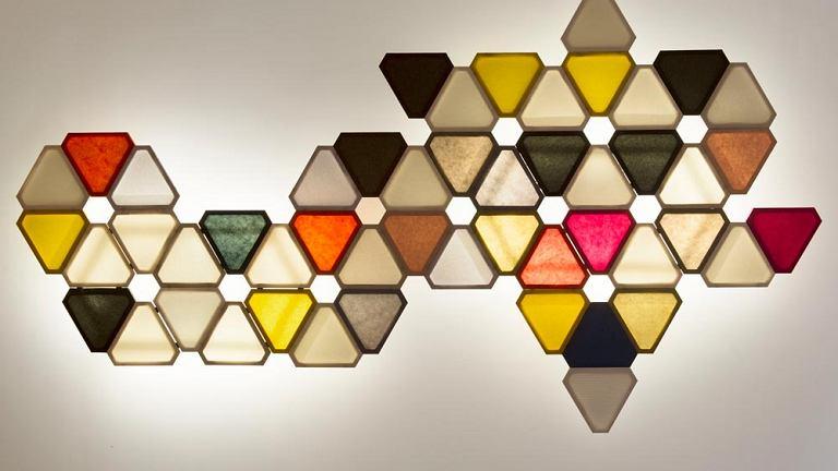 Barwne struktury świetlne