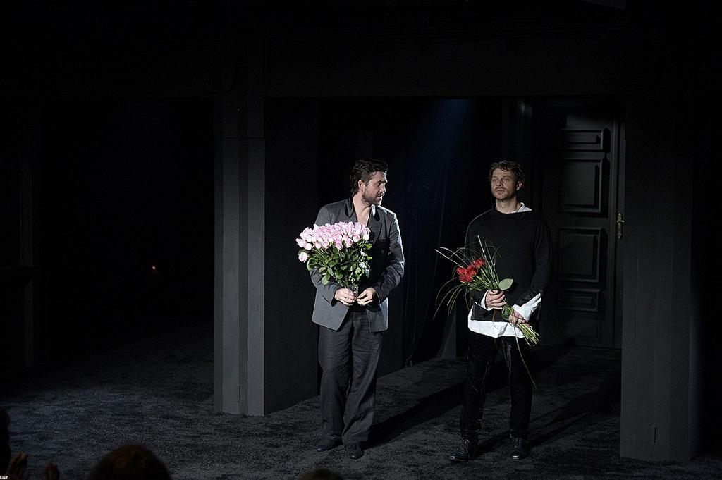 Marcin Dorociński i Maciej Damięcki