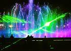 Multimedialny Park Fontann w Warszawie.T�umy s�ucha�y muzyki Jeana-Michele Jarre'a na otwarciu sezonu