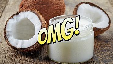 Twardy miąższ orzechów palmy kokosowej tzw. kopra zawiera aż 70% tłuszczu.