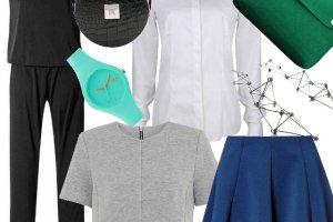 Minimalistyczne ubrania i dodatki na ka�da kiesze�
