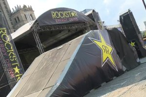Flying Rockstar Energy Tour