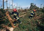 Burze z gradem przeszły nad Polską. 140 interwencji strażaków w całym kraju