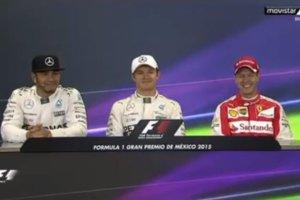 GP Meksyku. Vettel w formie. Zobacz jak dogryz� Hamiltonowi i Rosbergowi