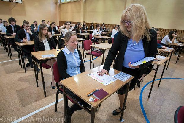 Matury 2018. Wszyscy tegoroczni maturzyści przystąpili do egzaminu z języka obcego.