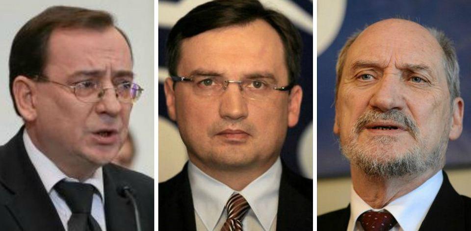 Mariusz Kamiński, Zbigniew Ziobro, Antoni Macierewicz