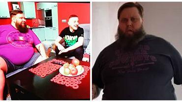 Mateusz Borkowski z 'Gogglebox' schudł 125 kg!