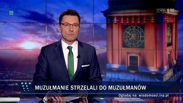 'Wiadomości' TVP1, 30.01.2017