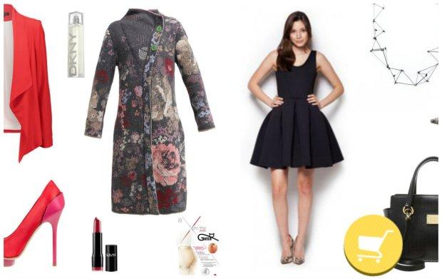 Czarna sukienka w świątecznym wydaniu. Stylizacje na Boże Narodzenie