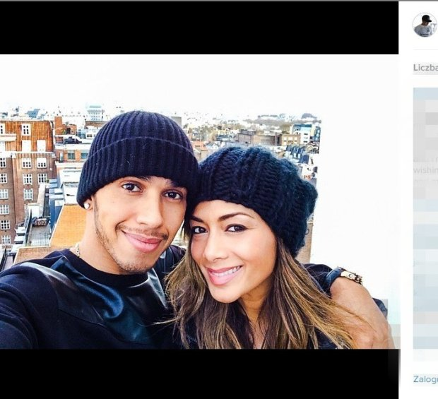 Lewis Hamilton i Nicole Scherzinger