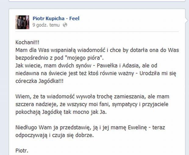 Facebook.com/Piotr Kupicha Feel