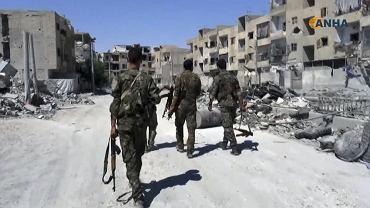 Siły odbijającej Rakkę koalicji na ulicach dzielnicy odebranej dżihadystom z ISIS