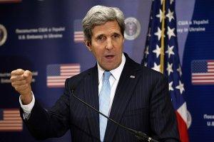 Kerry grozi Putinowi: Je�eli Rosja si� nie wycofa, b�dziemy j� izolowa� gospodarczo i politycznie