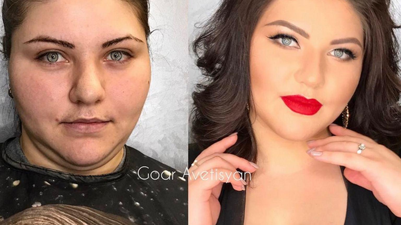 Модель для макияжа у гоар аветисян