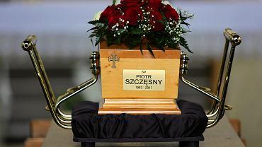 Pogrzeb Piotra Szczęsnego na Cmentarzu Salwatorskim w Krakowie