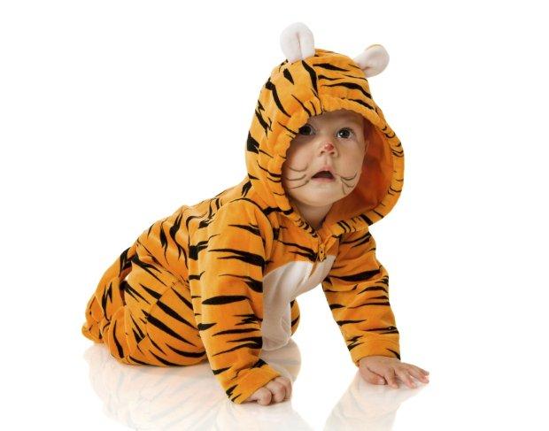 Przebranie dla niemowlaka musi być przede wszystkim wygodne.