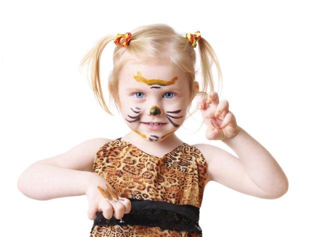 Proste przebranie na bal: tygrys