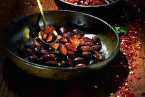 Prażone migdały w chilli