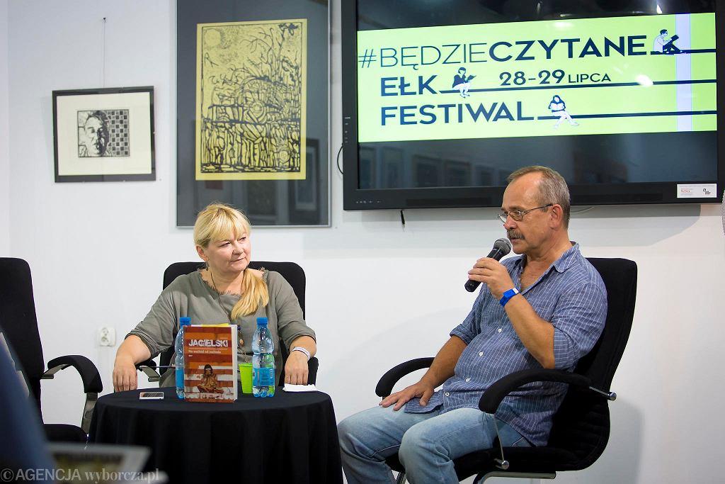 Wojciech Jagielski na festiwalu #bedzieczytane w Ełku / RENATA DĄBROWSKA